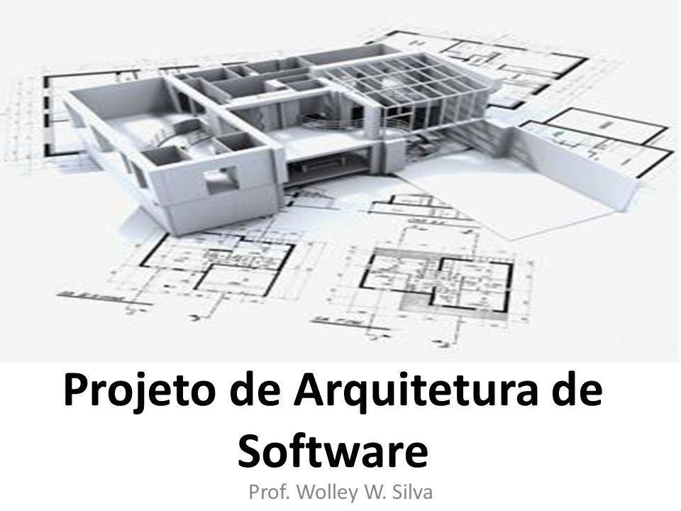 Projeto de Arquitetura de Software Prof. Wolley W. Silva