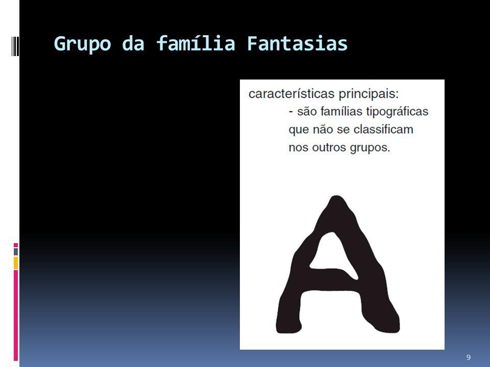 Grupo da família Fantasias 9