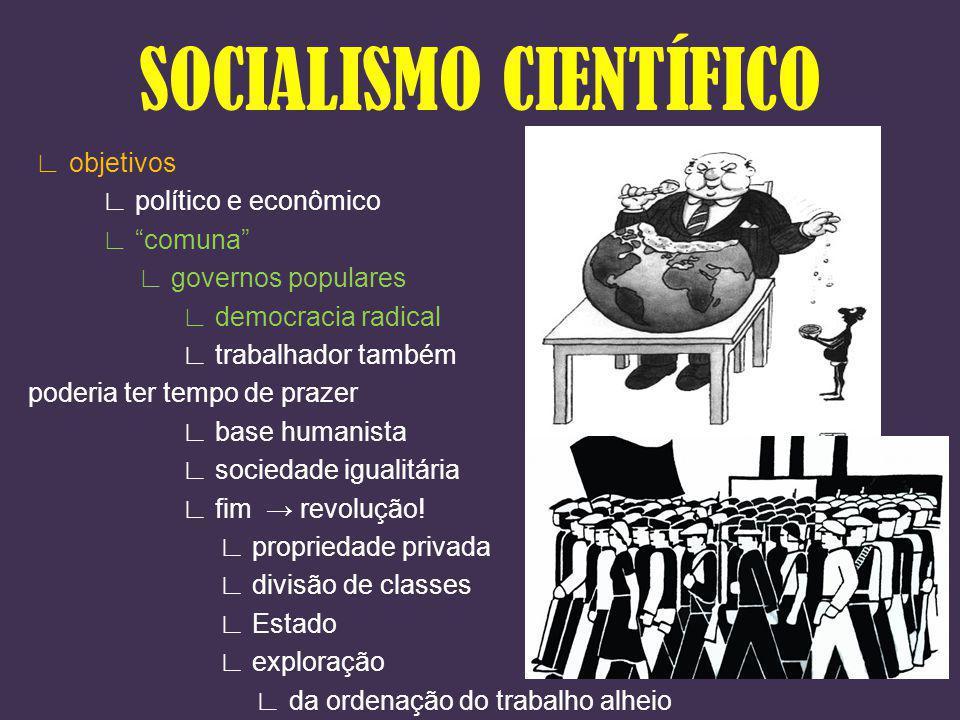 objetivos político e econômico comuna governos populares democracia radical trabalhador também poderia ter tempo de prazer base humanista sociedade ig