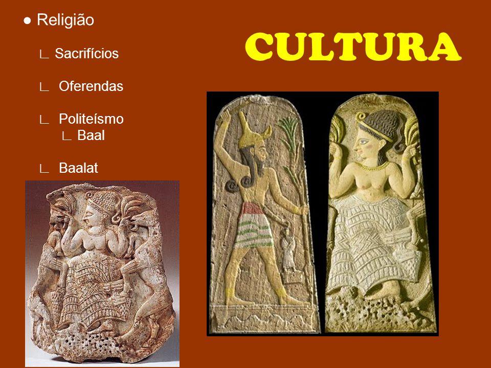 Religião Sacrifícios Oferendas Politeísmo Baal Baalat CULTURA