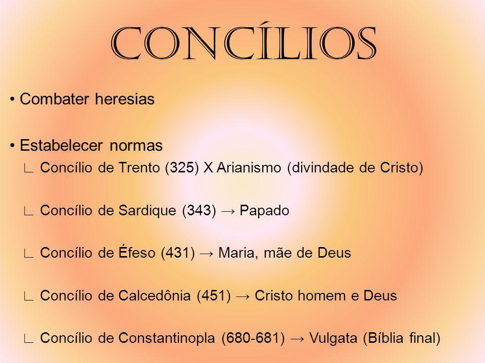 MONASTÉRIOS Refúgio Regra dos beneditinos Campo Solidão no silêncio Horários Orar Trabalhar Estudar Copiar