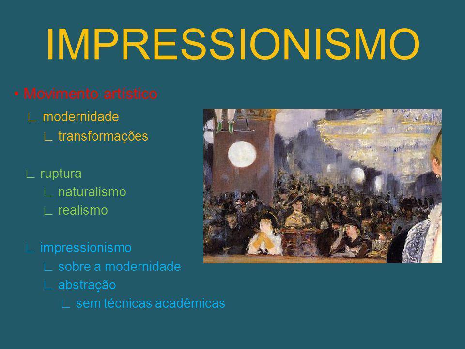 REALISMO Literatura Pintura Capacidade humana expressar a realidade otimismo científico (contexto) Objetividade racionalismo X Românticos (frieza) Temas campo e cidade