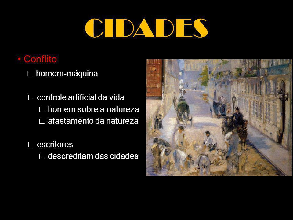 MODERNISMO Modernidade final do XIX início do XX rompimento com o passado homem + sociedade Revolução Francesa Revolução Industrial