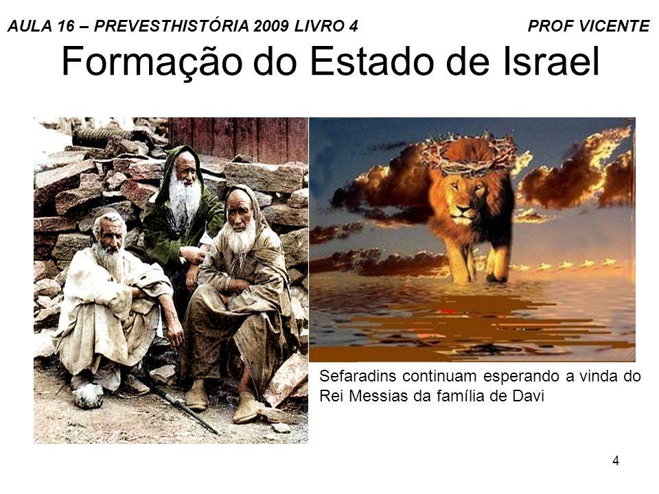 5 Formação do Estado de Israel Segunda Diáspora judaica.