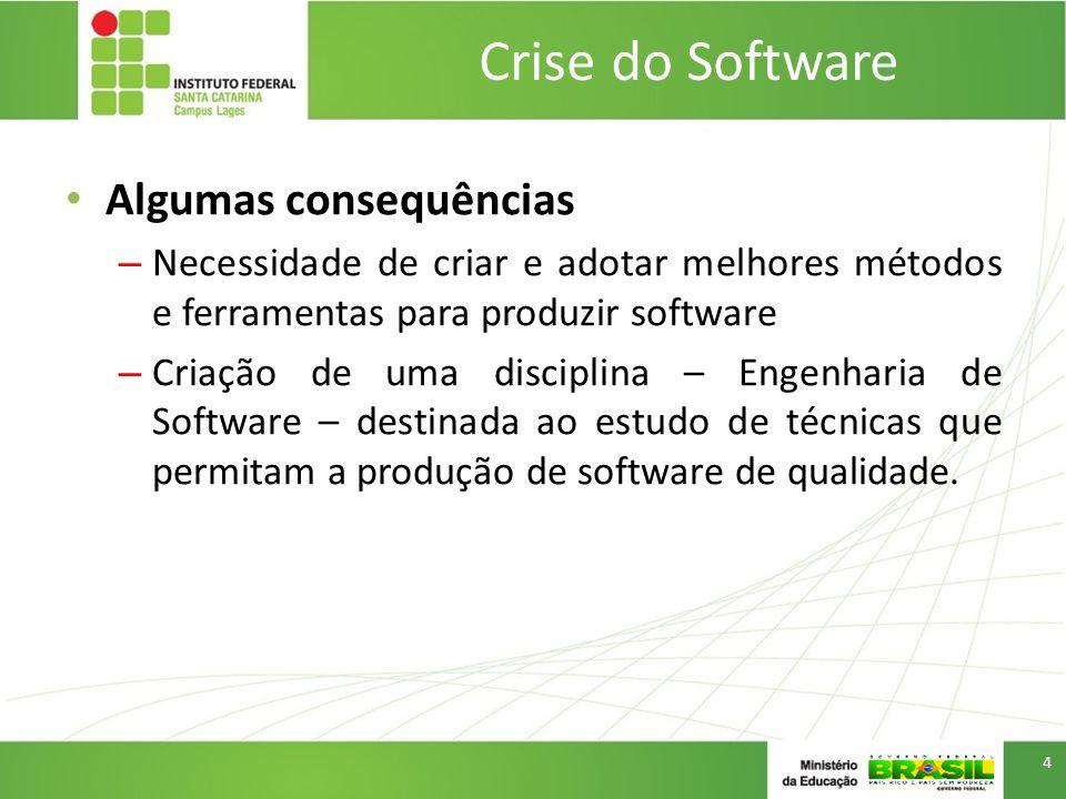 Introdução Engenharia de Software –É uma disciplina que se preocupa com todos os aspectos da produção de software.
