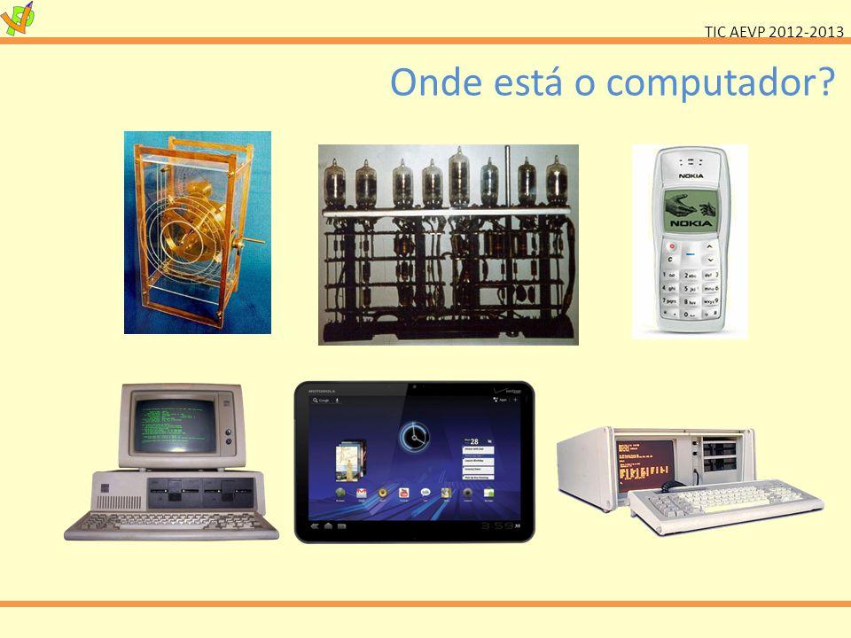 TIC AEVP 2012-2013 Dynabook Alan Kay, 1968 Primeiro conceito de computador portátil Concepção dos elementos.