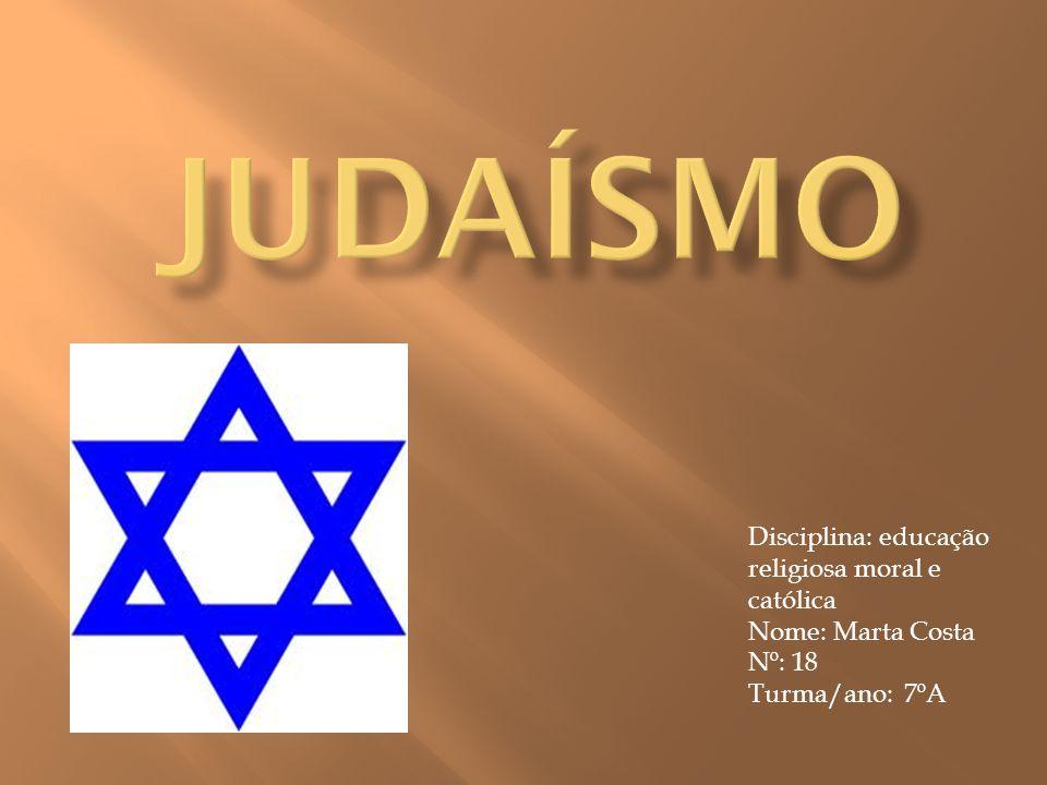 Disciplina: educação religiosa moral e católica Nome: Marta Costa Nº: 18 Turma/ano: 7ºA