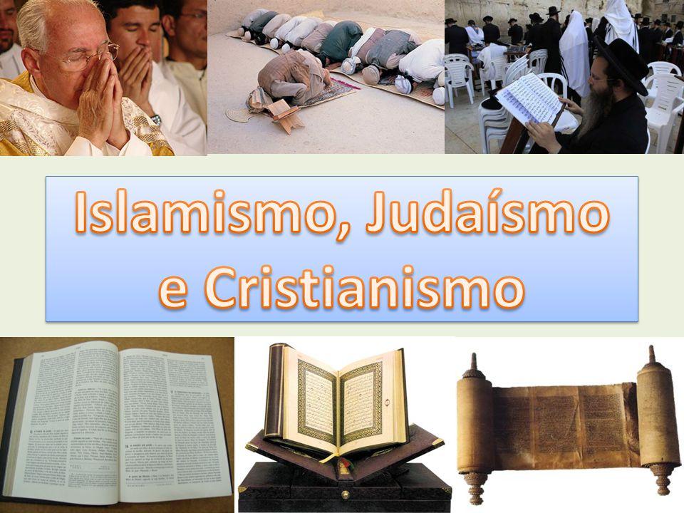 A religião judaica foi a primeira religião monoteísta a aparecer na história.