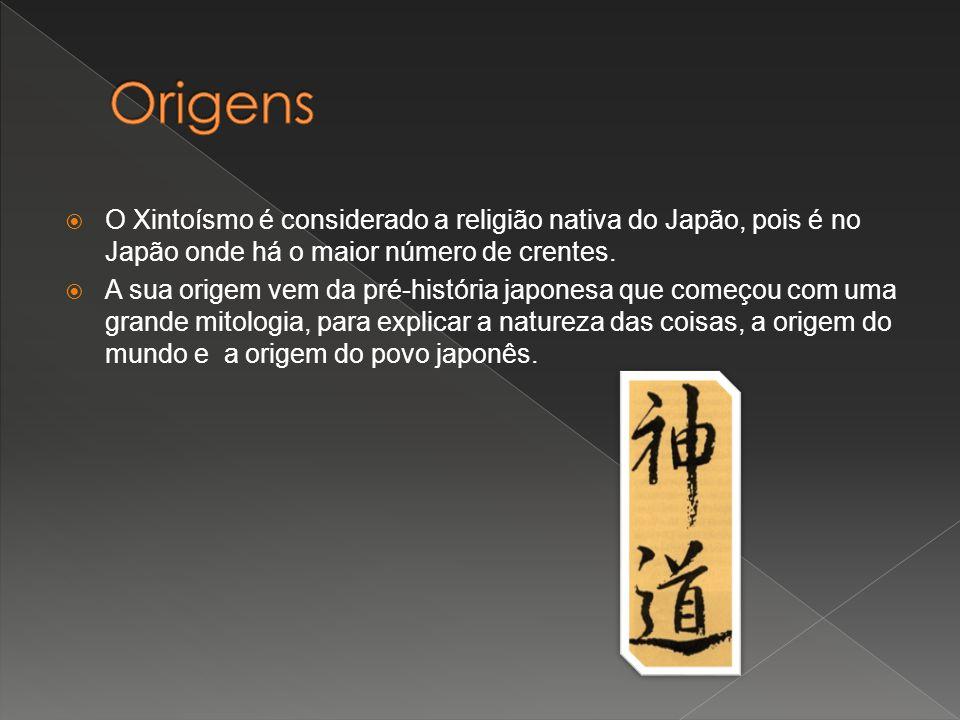 O Xintoísmo é considerado a religião nativa do Japão, pois é no Japão onde há o maior número de crentes. A sua origem vem da pré-história japonesa que
