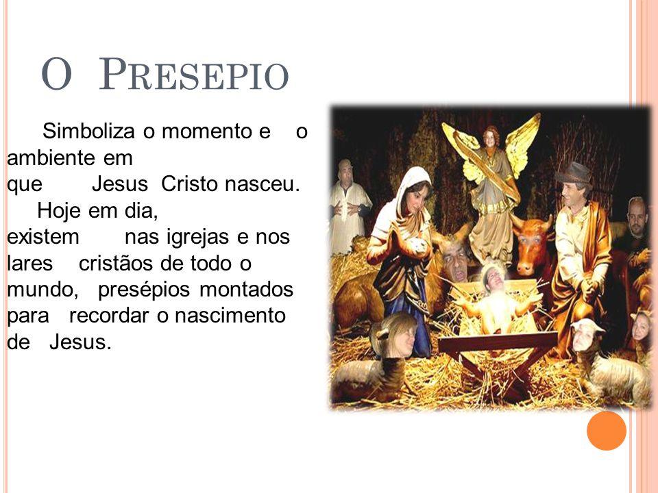 A E STRELA É usada na ponta da Árvore de Natal para nos lembrar da Estrela de Belém, que guiou os reis magos até a manjedoura de Jesus.