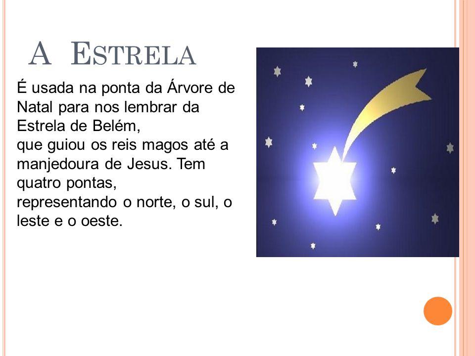 O S S INOS Representa o anúncio para a humanidade do nascimento de Jesus Cristo, o Salvador.