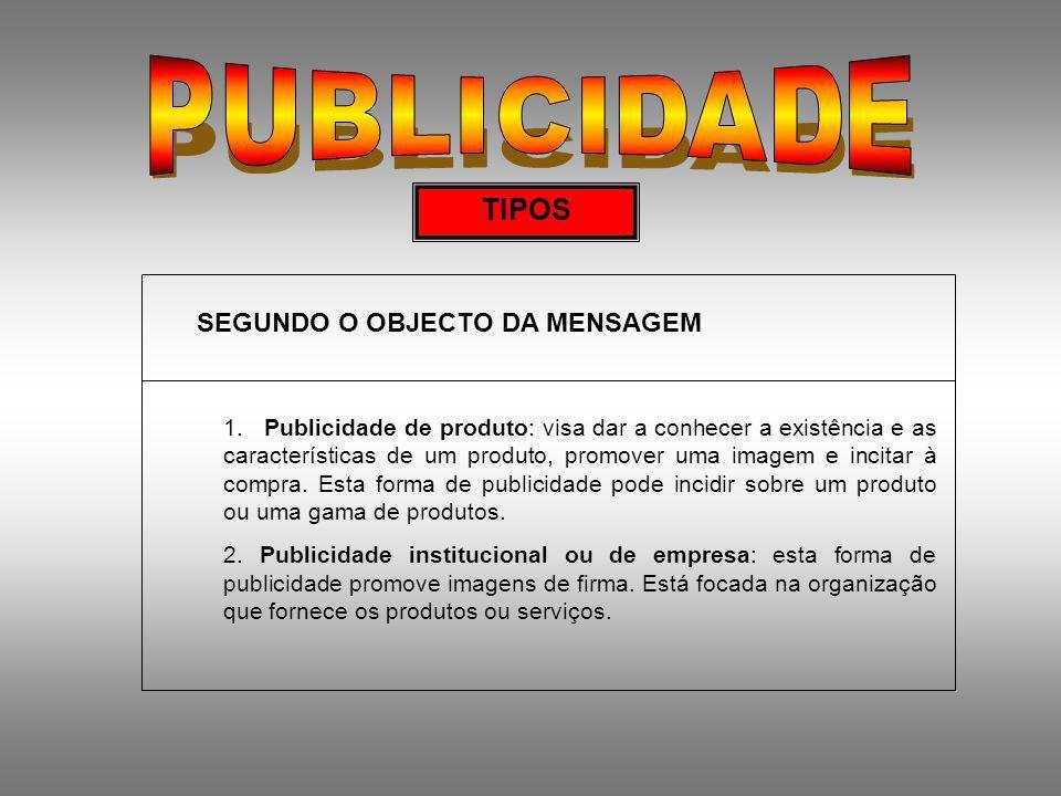 1.O BRIEFING A. CONTEXTO DO PRODUTO/MERCADO 1.