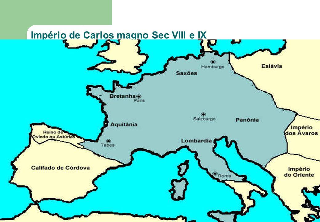 50 Império de Carlos magno Sec VIII e IX