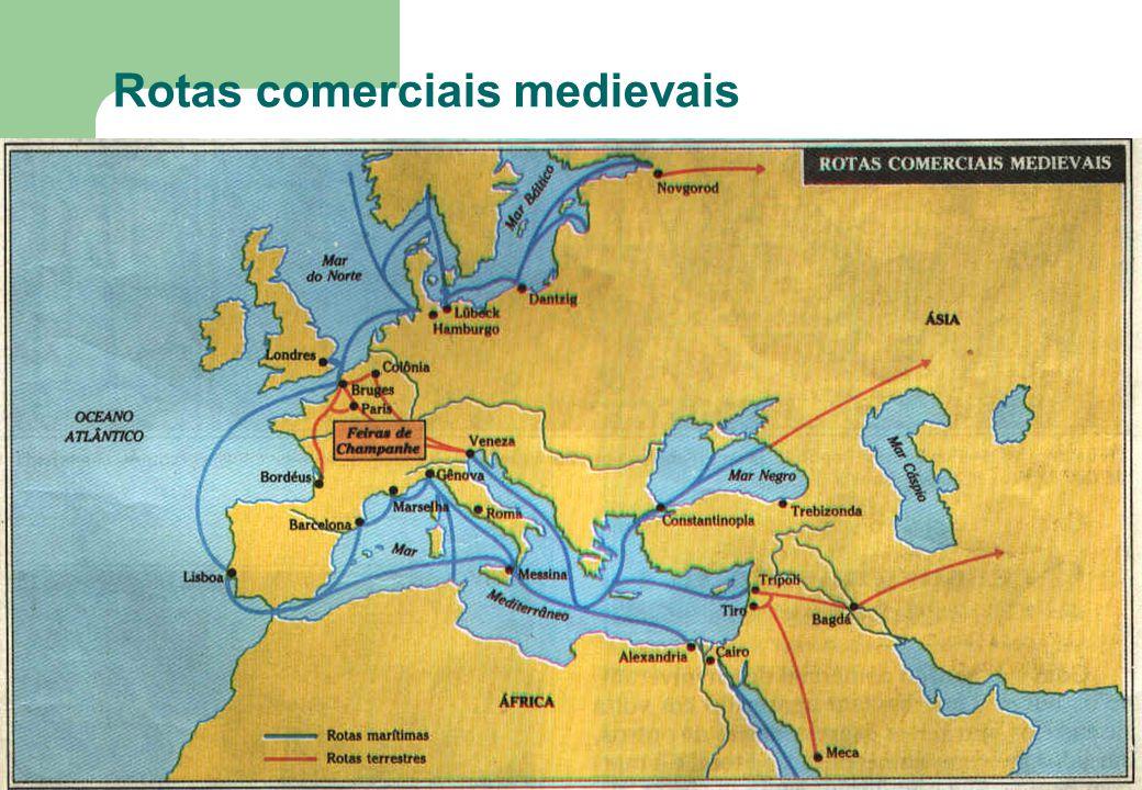 69 Rotas comerciais medievais