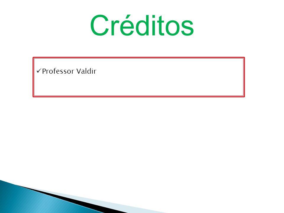 Professor Valdir Créditos