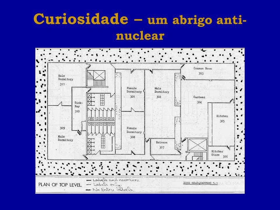 Curiosidade – um abrigo anti- nuclear