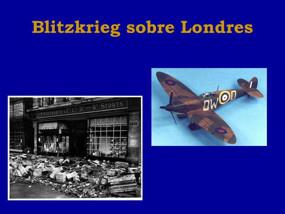 Blitzkrieg sobre Londres