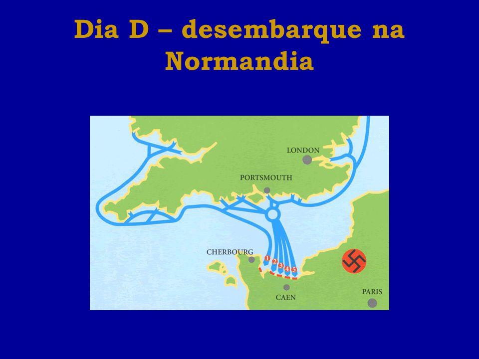 Dia D – desembarque na Normandia