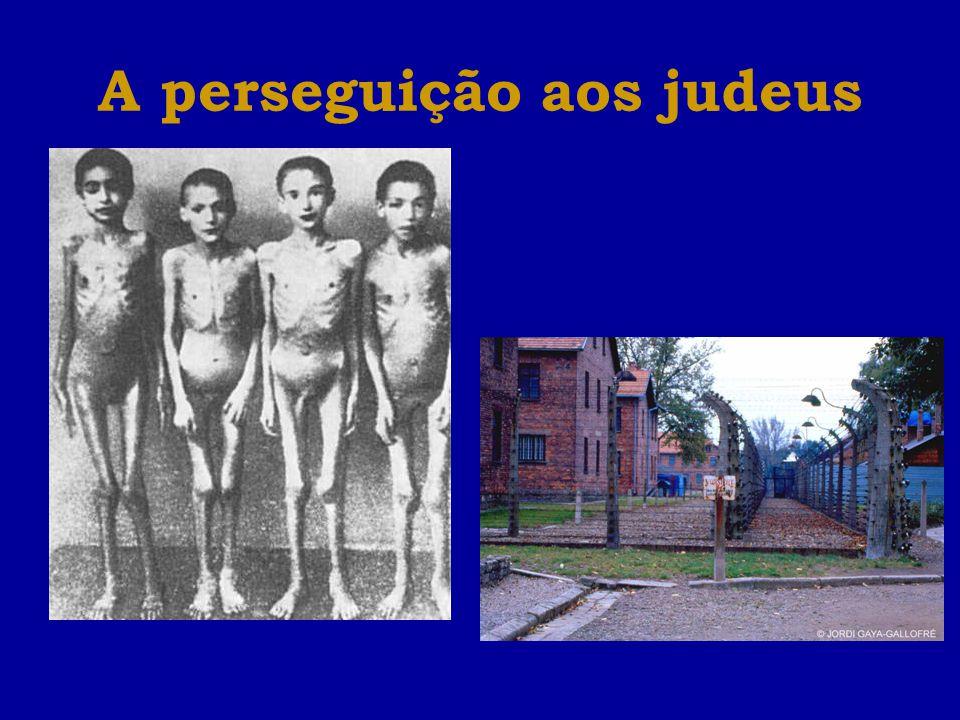 A perseguição aos judeus