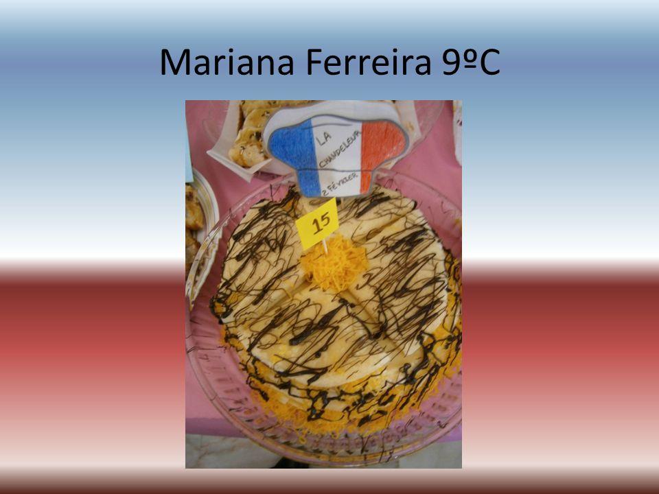 Mariana Ferreira 9ºC