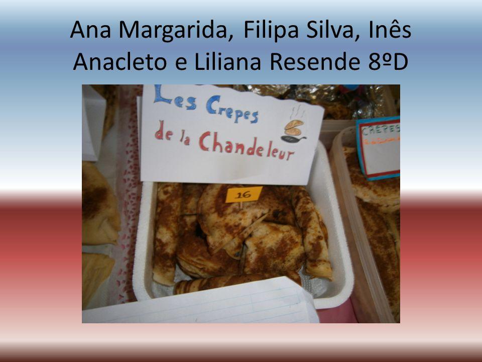 Ana Margarida, Filipa Silva, Inês Anacleto e Liliana Resende 8ºD