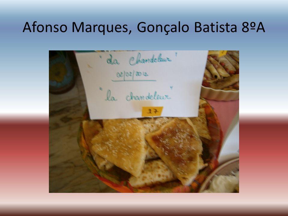 Afonso Marques, Gonçalo Batista 8ºA