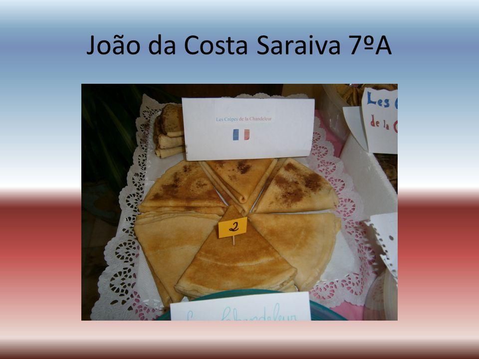João da Costa Saraiva 7ºA