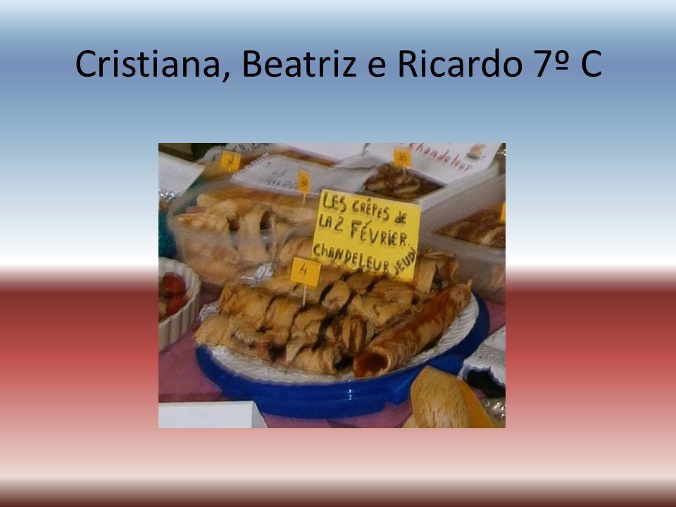 Cristiana, Beatriz e Ricardo 7º C