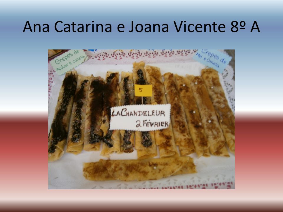 Ana Catarina e Joana Vicente 8º A