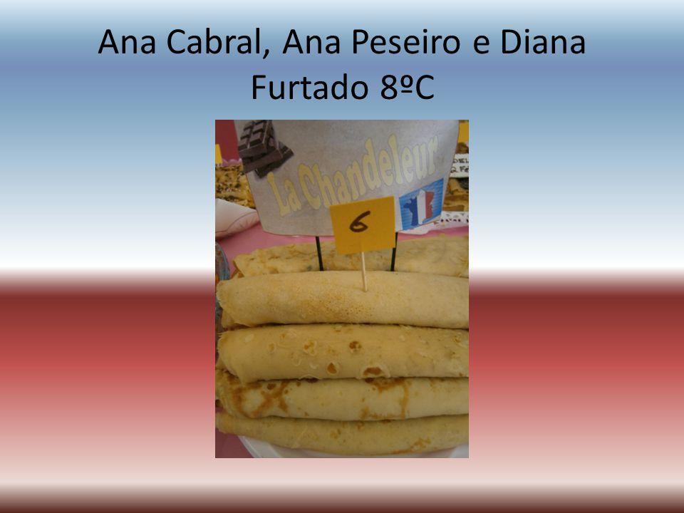 Ana Cabral, Ana Peseiro e Diana Furtado 8ºC