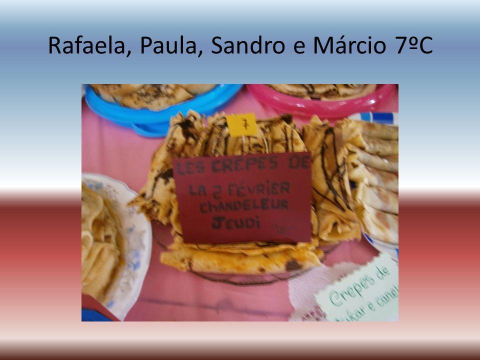 Rafaela, Paula, Sandro e Márcio 7ºC