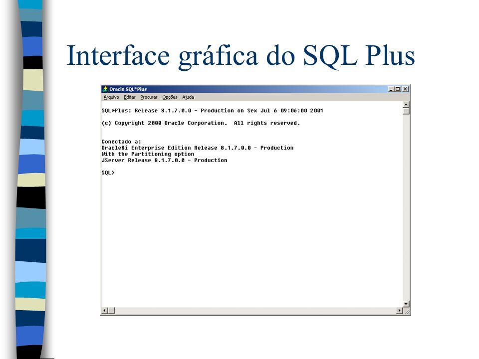 Triggers n Triggers são salvos em um arquivo.sql e compiladas no Oracle com o comando @caminho_completo do SQL Plus n Caso ocorra algum erro de compilação o trigger não funciona corretamente n Erros de compilação podem ser vistos com o comando show_errors do SQL Plus.