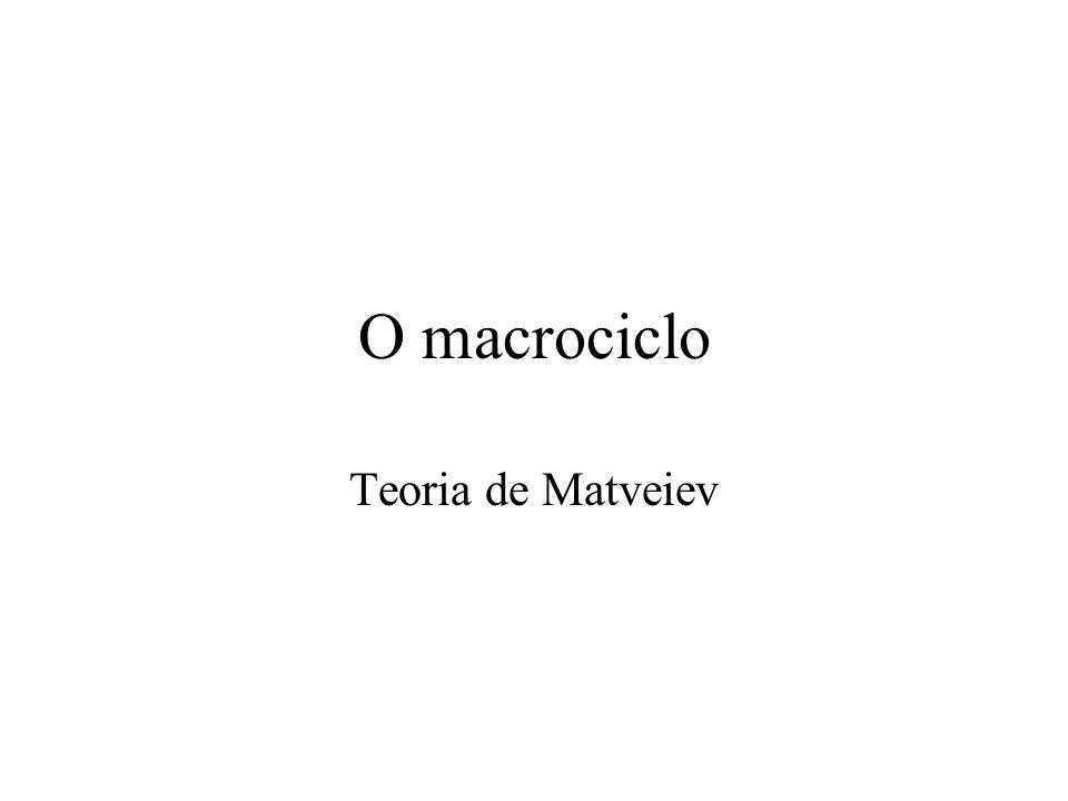 O macrociclo Teoria de Matveiev