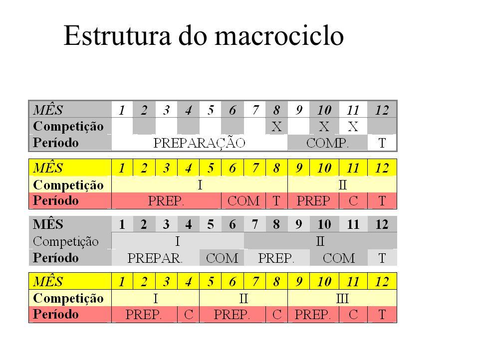 Estrutura do macrociclo