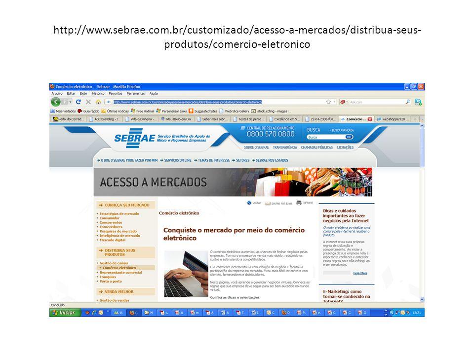 http://www.sebrae.com.br/customizado/acesso-a-mercados/distribua-seus- produtos/comercio-eletronico
