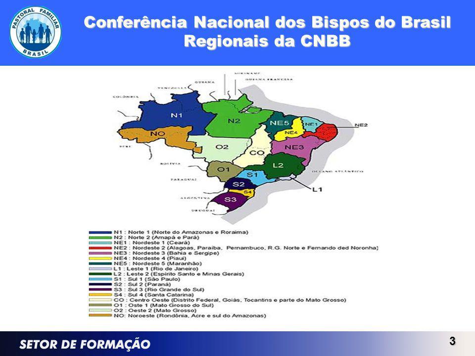 3 Conferência Nacional dos Bispos do Brasil Regionais da CNBB
