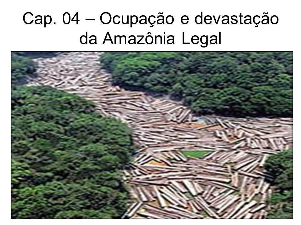 Cap. 04 – Ocupação e devastação da Amazônia Legal