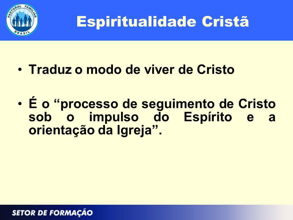 Base para uma Espiritualidade Cristã Dignidade: Respeitabilidade Autoridade moral