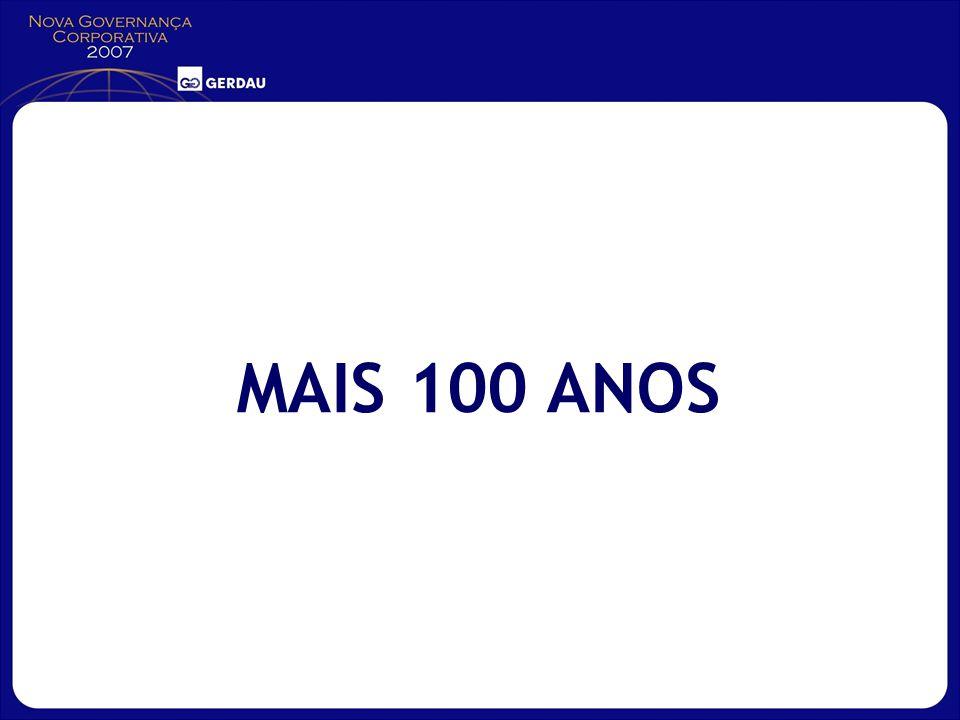 MAIS 100 ANOS