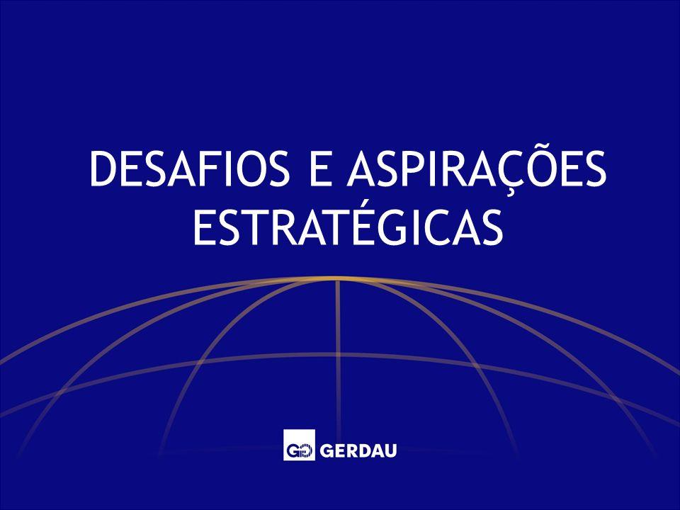 DESAFIOS E ASPIRAÇÕES ESTRATÉGICAS