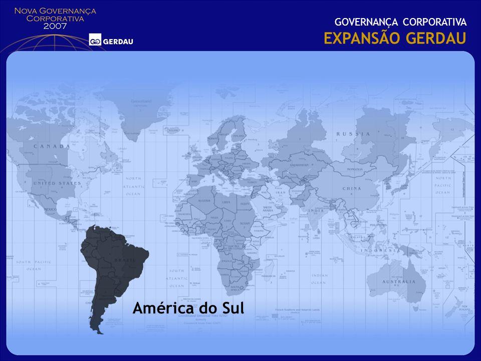 GOVERNANÇA CORPORATIVA EXPANSÃO GERDAU América do Sul