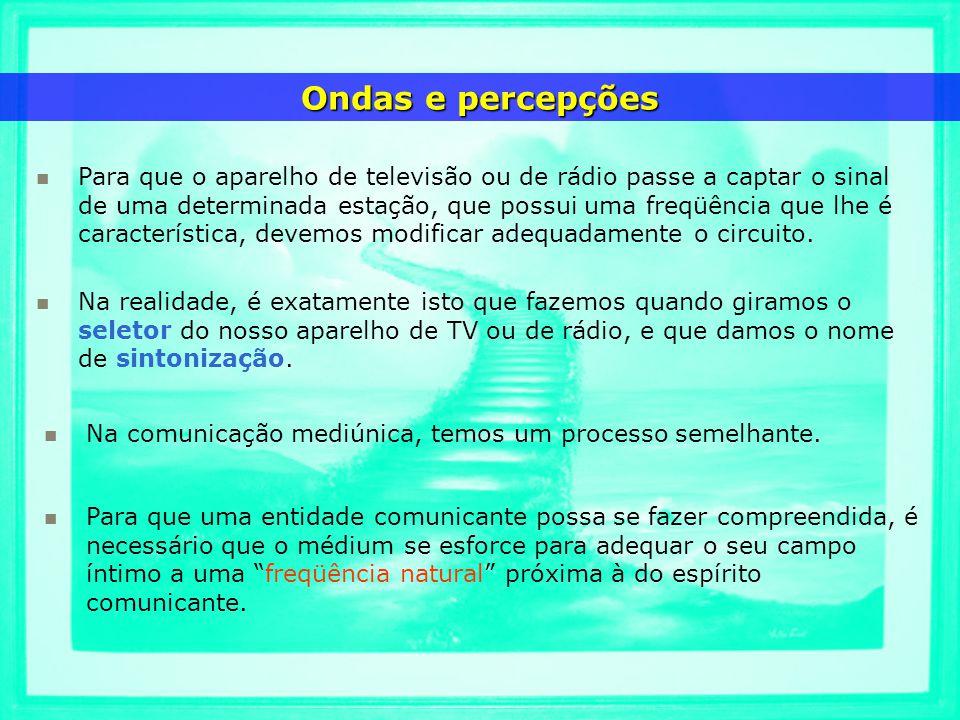 Para que o aparelho de televisão ou de rádio passe a captar o sinal de uma determinada estação, que possui uma freqüência que lhe é característica, de