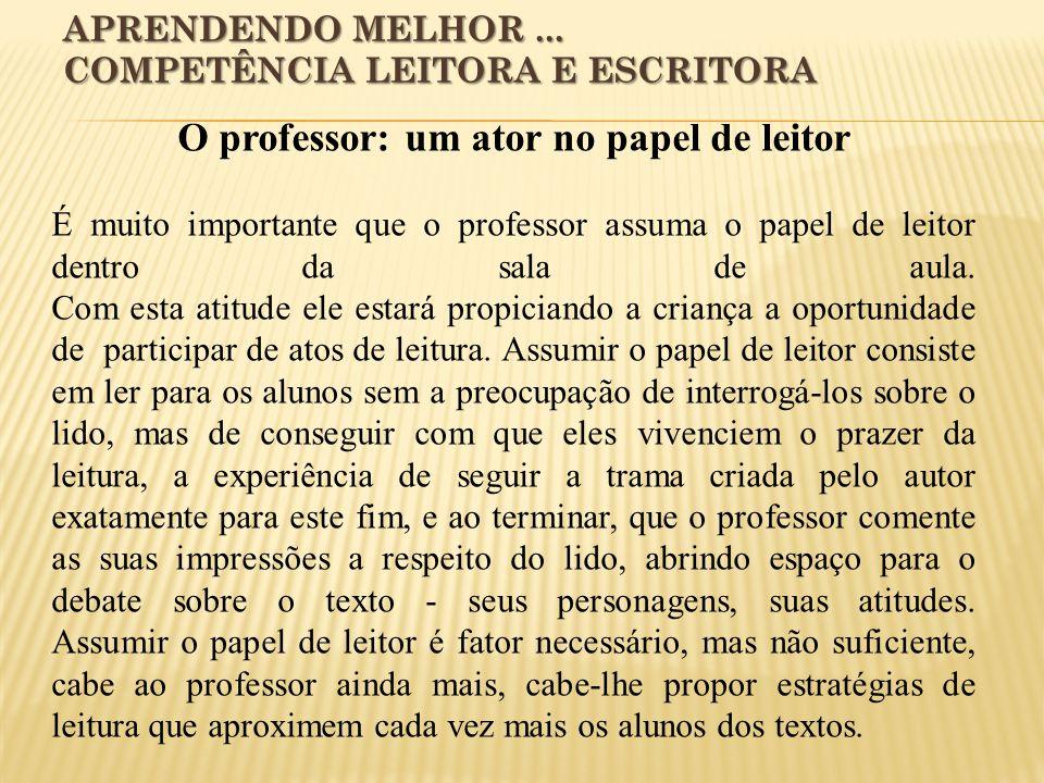 APRENDENDO MELHOR...