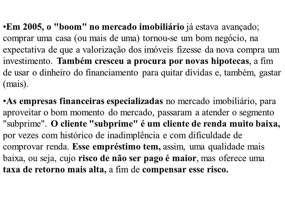 Com a comercialização globalizada e o Brasil detendo 30% do Produto Interno Bruto (PIB) agrícola comercializado internacionalmente, se prevê uma desaceleração do consumo mundial.