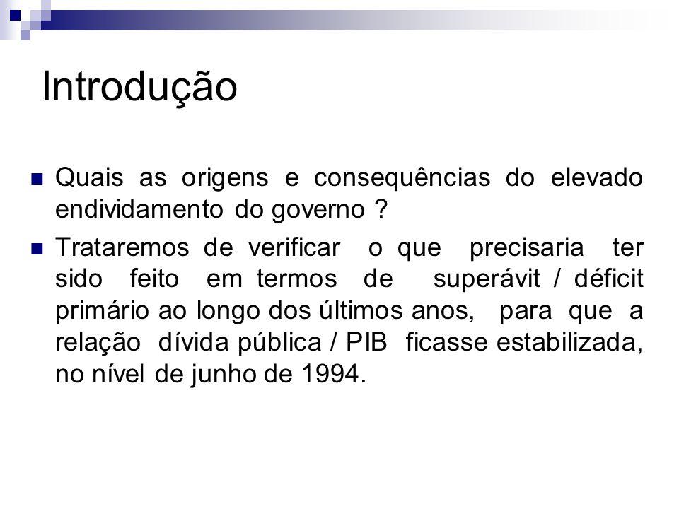 O Período FHC (1999-2002) pode ser definido como sendo de ajuste com endividamento, após o forte ajuste primário de 1999.