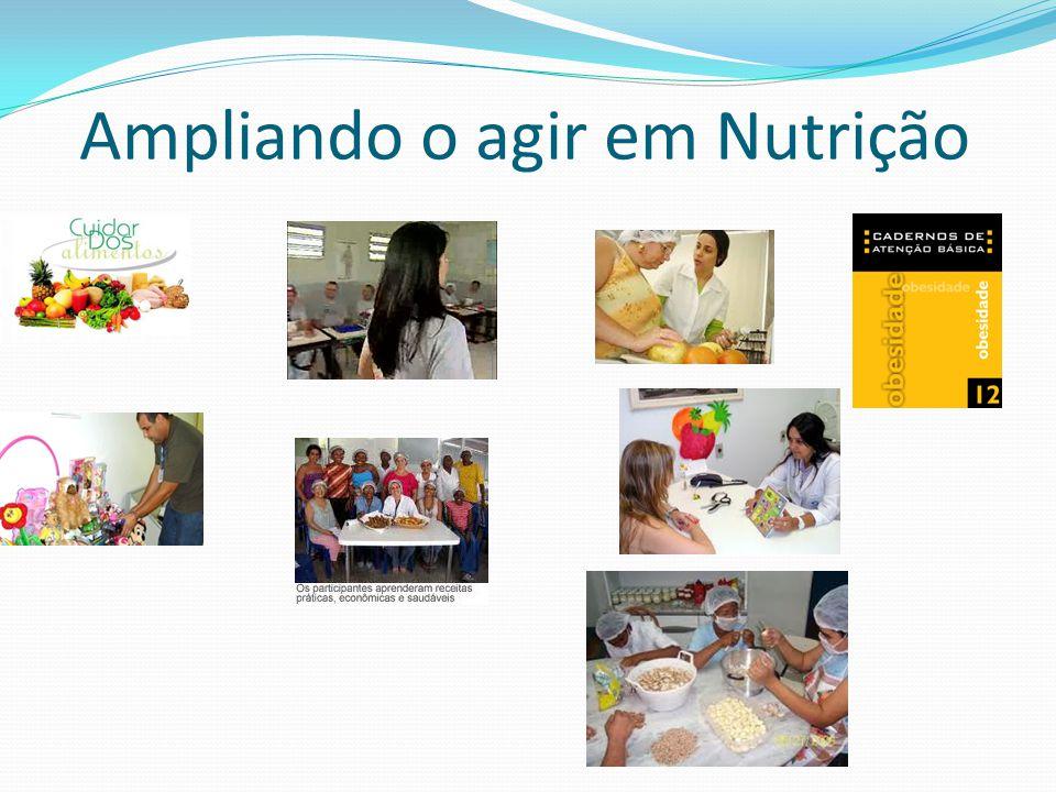 Ampliando o agir em Nutrição