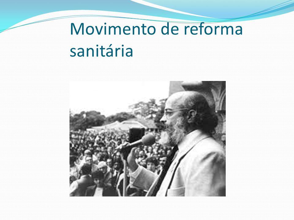 Movimento de reforma sanitária