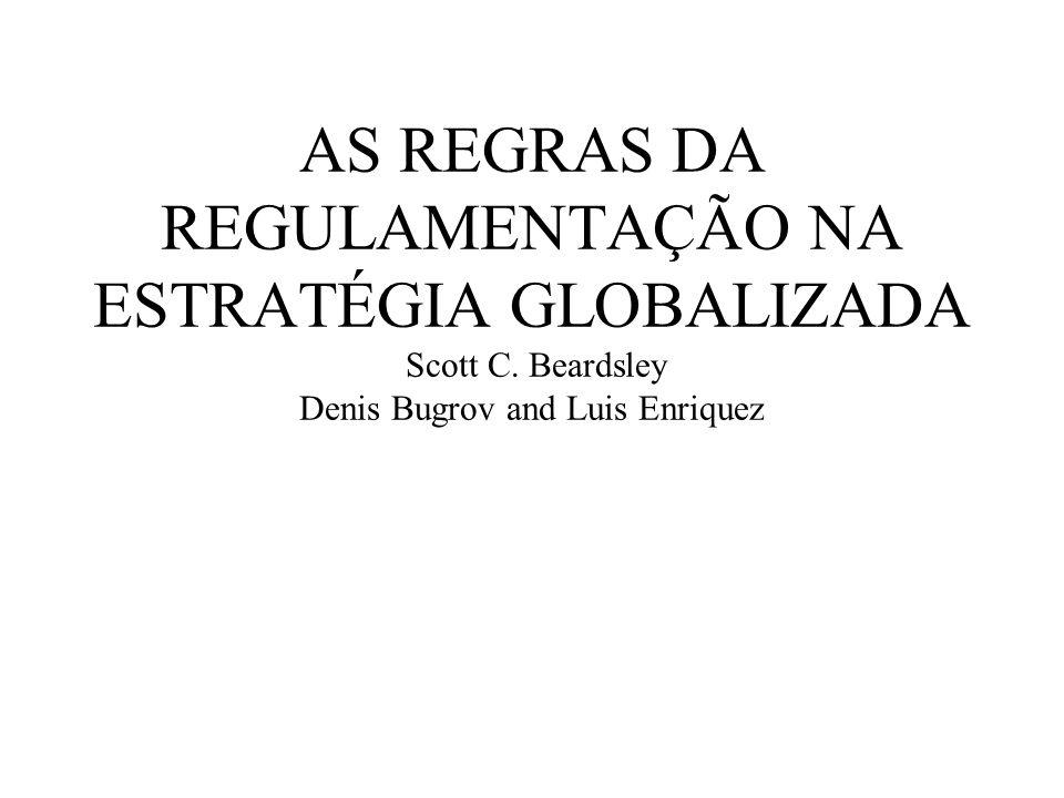 PROPOSIÇÕES CENTRAIS DO ARTIGO REGULAMENTOS Protocolo De Kyoto STAKEHOLDERS