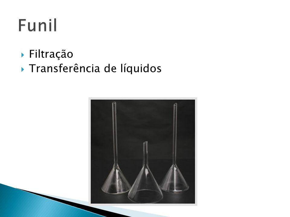 Filtração Transferência de líquidos