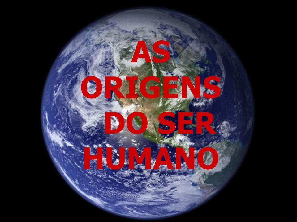 AS ORIGENS DO SER HUMANO